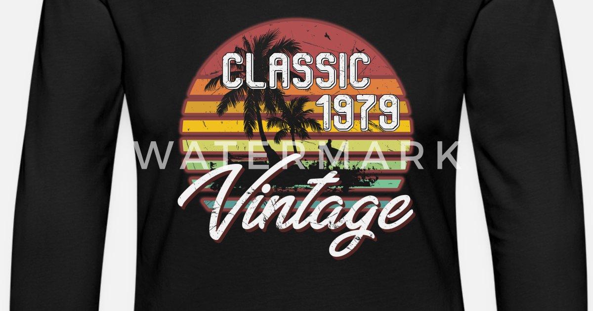Womens Premium Longsleeve Shirt39th Birthday Gifts Retro Vintage 1979 T Shirt