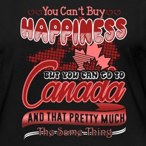 Canada Happiness Shirt - Women's Premium Long Sleeve T-Shirt