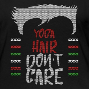 Ugly sweater christmas gift for yoga - Women's Premium Long Sleeve T-Shirt