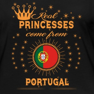 love princesses come from PORTUGAL - Women's Premium Long Sleeve T-Shirt