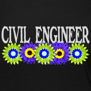 Civil Engineer Asters - Women's Premium Long Sleeve T-Shirt