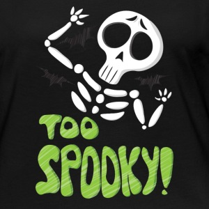 The Cool Too Spooky T shirt Halloween Gift - Women's Premium Long Sleeve T-Shirt