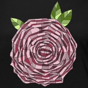 Stained Glass Rose - Women's Premium Long Sleeve T-Shirt