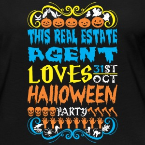 This Real Estate Agent Loves 31st Oct Halloween - Women's Premium Long Sleeve T-Shirt