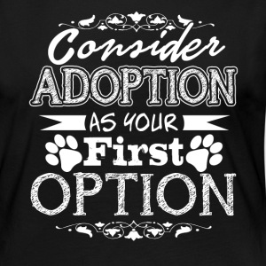 Pet Adoption Shirt - Women's Premium Long Sleeve T-Shirt