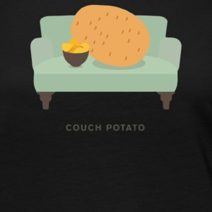 Couch Potato Pun - Women's Premium Long Sleeve T-Shirt