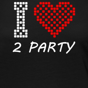 I Love 2 Party - Women's Premium Long Sleeve T-Shirt