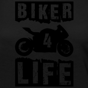 Biker - Women's Premium Long Sleeve T-Shirt