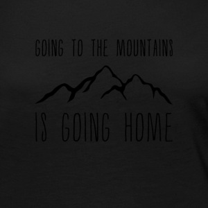 Going to the Mountains is Going Home - Women's Premium Long Sleeve T-Shirt