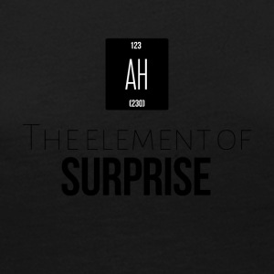 The element of surprise is AH - Women's Premium Long Sleeve T-Shirt