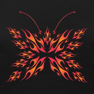 flaming butterfly - Women's Premium Long Sleeve T-Shirt