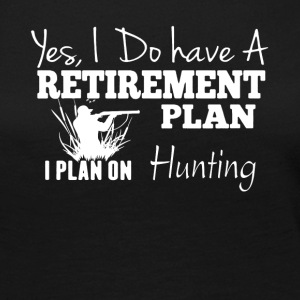 Retirement Plan On Hunting Shirt - Women's Premium Long Sleeve T-Shirt