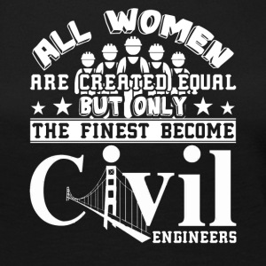 Civil Engineer Tshirt - Women's Premium Long Sleeve T-Shirt