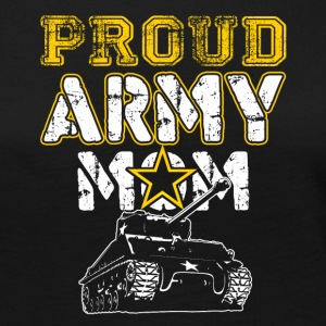Proud Army Mom Tshirt - Women's Premium Long Sleeve T-Shirt