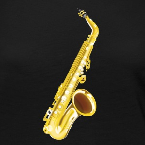 Saxophone, musical instrument, sax - Women's Premium Long Sleeve T-Shirt