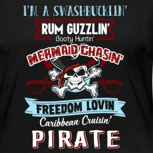 I'm A Pirate Shirt - Women's Premium Long Sleeve T-Shirt