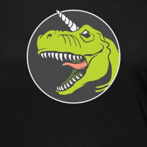 T rex Angry - Women's Premium Long Sleeve T-Shirt