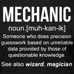 Mechanic - funny mechanic meaning - mechanic no