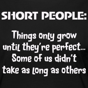 People - short people funny slogan message