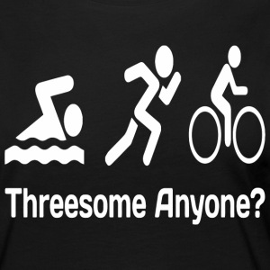 Threesome anyone? funny triathlon