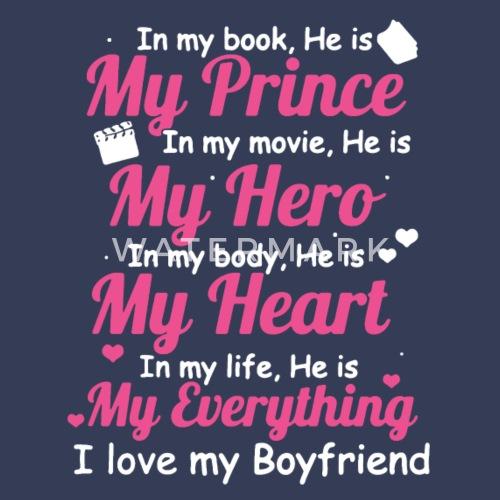 I Love My Boyfriend Shirt Womens Premium Longsleeve Shirt Spreadshirt