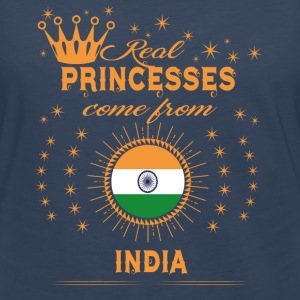 love princesses come from INDIA - Women's Premium Long Sleeve T-Shirt