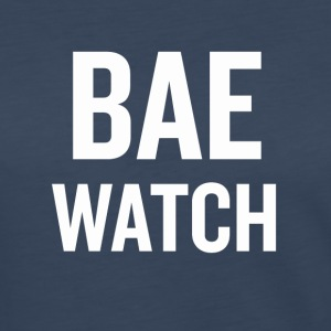 Bae Watch White - Women's Premium Long Sleeve T-Shirt