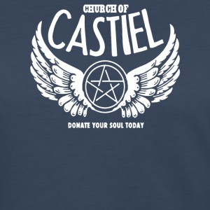 Church of Castiel Supernatural - Women's Premium Long Sleeve T-Shirt