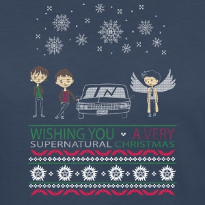 WISHING YOU A VERY SUPERNATURAL CHRISTMAS - Women's Premium Long Sleeve T-Shirt