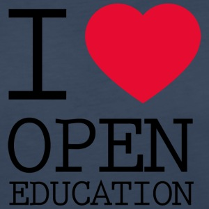 I Love Open Education - Women's Premium Long Sleeve T-Shirt