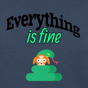 Everything is fine - Women's Premium Long Sleeve T-Shirt