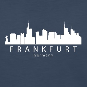 Frankfurt Germany Skyline - Women's Premium Long Sleeve T-Shirt