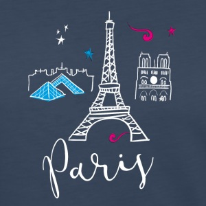 paris france Europe Trip Tourist Eiffel Tower eu - Women's Premium Long Sleeve T-Shirt