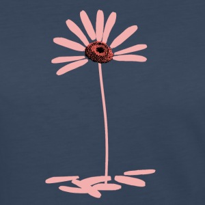 Daisy Pink - no text - Women's Premium Long Sleeve T-Shirt