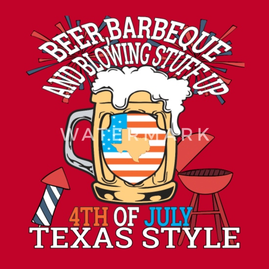 d9a82256 Beer BBQ And Blowin Stuff Up 4th Of July Texas Women's Premium ...