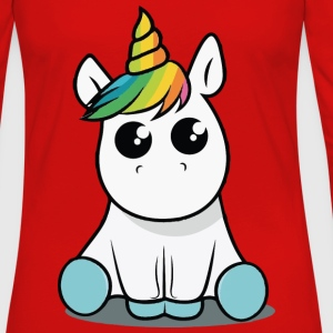 Baby unicorn funny costume - Women's Premium Long Sleeve T-Shirt
