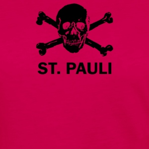 ST Pauli Skull - Women's Premium Long Sleeve T-Shirt
