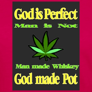 God made Pot - Women's Premium Long Sleeve T-Shirt