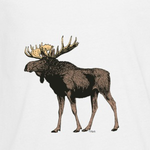 Moose - Kids' Premium Long Sleeve T-Shirt