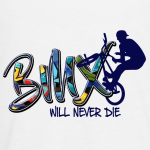 BMX never die - Kids' Premium Long Sleeve T-Shirt