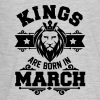 kings are born in march - Kids' Premium Long Sleeve T-Shirt