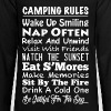 Camping Rules Camper Gift - Kids' Premium Long Sleeve T-Shirt