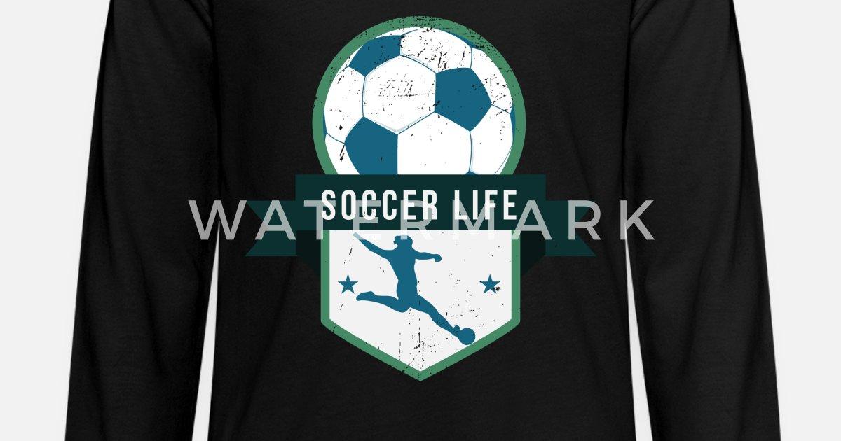 3b051fed8 Soccer Kids' Premium Longsleeve Shirt   Spreadshirt