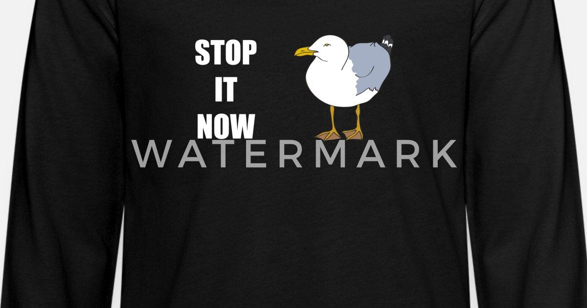 f825207c Kids' Premium Longsleeve ShirtSeagulls Stop it Now - Yoda Star Wars Bad Lip  Read