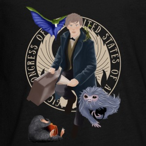 Newt and the gang T-Shirt - Kids' Premium Long Sleeve T-Shirt