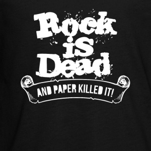 Rock Is Dead and Paper Killed It - Kids' Premium Long Sleeve T-Shirt