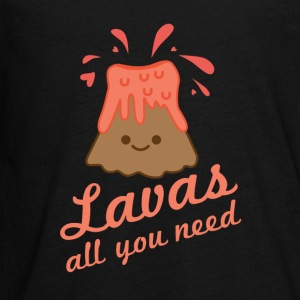 Lavas All You Need - Kids' Premium Long Sleeve T-Shirt