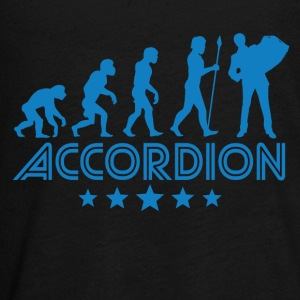 Retro Accordion Evolution - Kids' Premium Long Sleeve T-Shirt