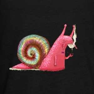 LSD Snail smoking a pipe - Kids' Premium Long Sleeve T-Shirt