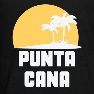 Punta Cana Dominican Republic Sunset Palm Trees - Kids' Premium Long Sleeve T-Shirt